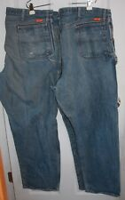 2 Pair Wrangler FR Carpenter Blue Jeans 46x34 ARC Rating 23.7 Riggs Workwear