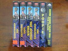 Mystery Science Theater 3000 Vhs Lot cult horror sci-fi movie poopie gunslinger