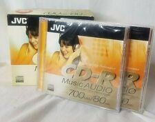 JVC CD-R 80 Min AUDIO MUSIC 700MB - 10 Pack (NEW - SEE BELOW) + 2 FREE DISKS