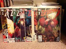 Zatanna 1,2,3,4,5,6,7 (2010) DC Paul Dini (NM) Harley Quinn Adam Hughes JLA Dark
