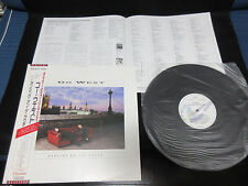 Go West Dancing on The Couch Japan Promo Label Vinyl LP with OBI 1987