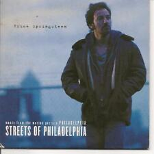 CD SINGLE 2 TITRES--BRUCE SPRINGSTEEN--STREETS OF PHILADELPHIA--1994