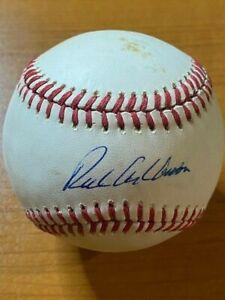Richie Ashburn - Signed Autographed Rawlings ONL (Giamatti) Baseball- PSA