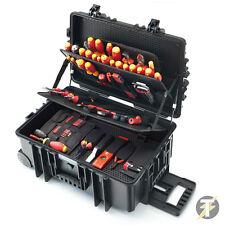 NEUF WIHA 9300-703 (40524) 115pc de luxe roulant outil étui pour électriciens