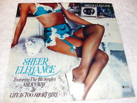 Sheer Elegance - Self-Titled S/T, 1976 Soul/Funk LP, SEALED!, Original ABC Press