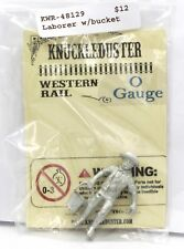 Knuckleduster KWR-48129 Laborer with Bucket O Gauge Scale Old West Townsfolk