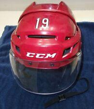 ARIZONA COYOTES Shane Doan game-worn home CCM helmet 2016-17 season (final year)