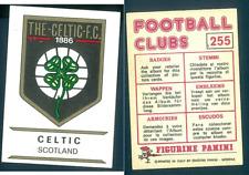 Celtic Badge (Scotland) Football Clubs 75 Ed.Panini! Original n.255 NEW