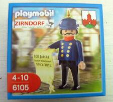 Playmobil SPECIAL Zirndorf soldat gendarme 6105 NOUVEAU & NEUF dans sa boîte Boutons Capot Bolli