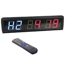 Multifunctional CrossFit Timer Programmable LED Interval Timer For EMOM Tabata