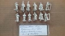 25mm Mini Figs American Civil War  Federal  Artillery Crew