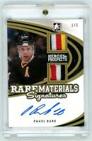 2015 ITG Rare Materials Signatures Pavel Bure 1/1 autopatch one of one NASTY!!