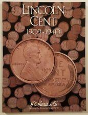 Whitman Harris Lincoln Cent #1 1909-1940 Coin Folder, Album, Book #2672