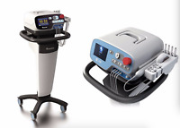 808nm + 650nm cold laser acupuncture lllt therapy laser with stand together