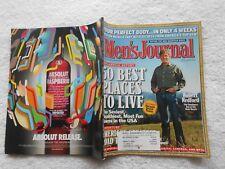 MEN'S JOURNAL Magazine-APRIL,2005-ROBERT REDFORD