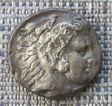 Greek Coin:  ALEXANDER III ('the Great') of Macedon, silver tetradrachm