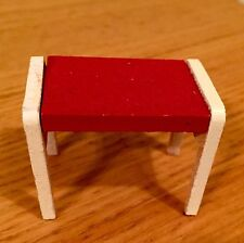 The Vintage LUNDBY Dollhouse Bench You Need!!