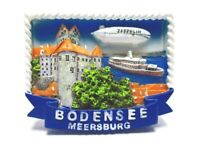 Meersburg Bodensee Magnet Poly 7 cm Germany Souvenir (369)