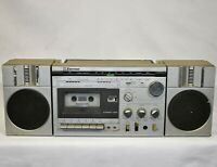 Vintage Emerson MM815B Vtg Boombox Stero AM FM Radio 1980s Cassette Player *Note