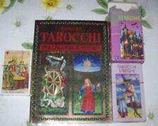 IL LIBRO DEI TAROCCHI+78 CARTE TAROCCHI CLASSICI+52 CARTE SIBILLA - PLASTIFICATE