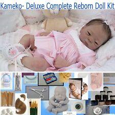 KAMEKO, Complete Reborn Doll Kit, Starter reborn kit- FREE help, DELUXE LOT