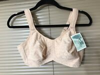 NEW 36 ANA ONO Women/'s MAKEMERRY Blush POCKETED PLUNGE RADIATION BRA L