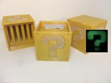 Nintendo 3 DS Glow n Dark Question Block Cartridge Case