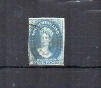 Australia - Tasmania 1857 4d FU