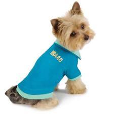 M. Isaac Mizrahi Paint Splatter Dog Tee Polo Shirt Pullover  Size: XXS