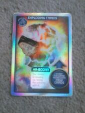 Dr who monster invasion exploding Tardis ultra rare card