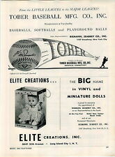 1959 ADVERT Tober Baseball Co Gil McDougald Facsimile Signature Rockville Conn