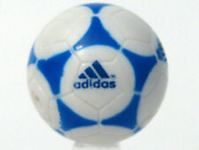 LEGO Sports - Soccer Ball with Adidas Blue Pattern - White