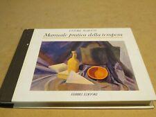 MANUALE PRATICO DELLA TEMPERA Ettore Maiotti Fabbri 1987 libro di scritto da per