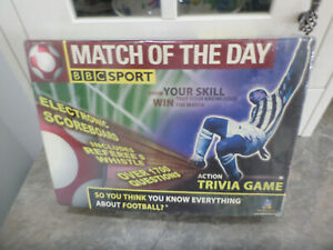 Match Of The Day Action Trivia Game New And Sealed