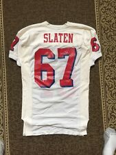 Smu Game Issued Used Jersey Joey Slaton #67 1997-2002 Sz 48 Cowboys Drafted Rare