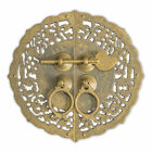 CBH Floral Chinese Brass Hardware Cabinet Door Plate 5 5