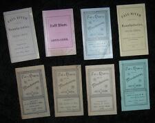 1888-1911 FALLS RIVER MASSACHUESTTS COTTON LOOMS MILLS IRON MACHINERY Rare Lot
