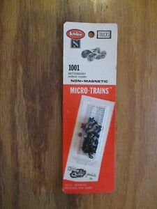 Kadee N Scale #1001 Bettendorf Without Coupler w Free ship!