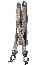 1 1/2 inch 'Mossy Oak' Camouflage Suspenders -  Button On