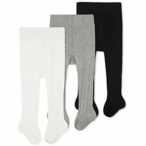 Cozyway Baby Girls Tights Cable Knit Leggings Stockings Cotton 1-2 year 26-33 lb