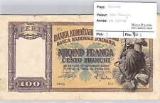 BILLET ALBANIE - 200 FRANGA (1940)