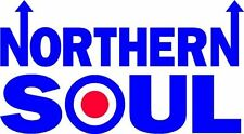 NORTHERN SOUL Vinyl Decal Sticker MOD SCOOTER car window sticker