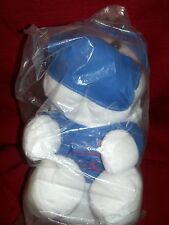 Plush Teddy Polar Bear Surgeon Stuffed Animal Doctor Scrubs Mask Hat Blue White