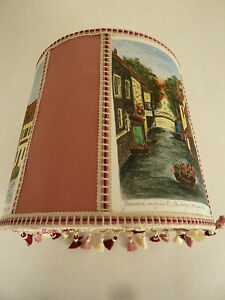 Lampshade Of Collection of The Years 80 With Engravings Original Signed
