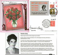 2007 ADVERT BOOKLET DIAMOND WEDDING SIGNED TAMSIN GREIG BENHAM FIRST DAY COVER
