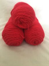 Red Heart With Love Yarn 3-Pack, Red