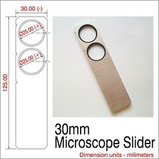 20mm X 4mm Microscope Slider Leitz Compatible Or Equal
