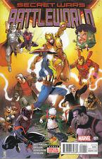 US COMIC PACK SECRET WARS BATTLEWORLD 1-4 Marvel englisch