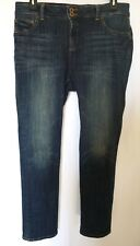 Lucky Brand Womens Jeans Emma Straight Tiburon Size 14W