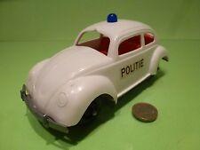 PLASTIC VINTAGE USA GERMANY VW VOLKSWAGEN BEETLE - POLICE POLITIE - L19.5cm RARE